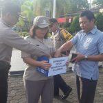 Polres Tanjungpinang Galang Dana Untuk Gempa Lombok