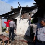 Quick Respon Polres Karimun Menangani Bencana Alam Angin Puting Beliung