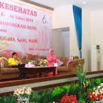 Sambut  HUT HKGB ke – 66, PD Bhayangkari Kepri Gelar Talk Show Kesehatan Bersama Dr.H. Boyke