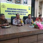 Dukung Program Promoter Kapolri, Polres Bintan Adakan Sosialisasi Rumah Murah Bersubsidi