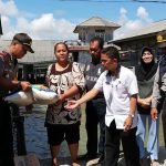 Bantu Warga Yang Terkena Bencana Angin Kencang Wujud Kepedulian Polres Tanjungpinang