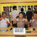 Polres Lingga Gelar Press Release Pengungkapan Kasus Narkoba