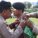 Polres Lingga Gelar Apel Pasukan Dalam Rangka Operasi Kepolisian Terpusat Mantap Brata 2018