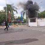 Terjadinya Aksi Anarkis Masa Pendukung Hingga Peledekan Bom Bunuh Diri