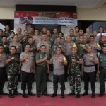kunjunganPangdam I Bukit Barisan Di Polda Kepri