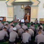 Rutinitas Binrohtal Polda Kepri, Tingkatkan Keimanan Personel Dalam Pelaksanaan Tugas