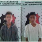 Hanya 3 Hari, Polsek Tanjungpinang Timur Tangkap 2 Pelaku Curanmor