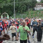 Kapolda Kepri Turut Semarakan Funbike HUT TNI ke-73