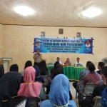 Iptu Hanif Sosialisasikan Pendidikan Pemilu Di Kec. Singkep