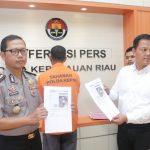 Lagi- Lagi Cyber Crime Polda Kepri Tangkap Pelaku Penyebar Hoax