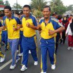 Polres Tanjungpinang Turut Meriahkan Fun Run HUT TNI