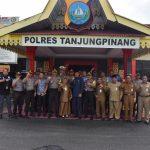 Silaturahmi Walikota Tanjungpinang ke Polres Tanjungpinang Wujud Sinergitas