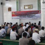 Doakan Korban Gempa-Tsunami, Polres Lingga Gelar Sholat Ghoib