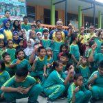 Semangat Asian Para Games 2018 Polres Tanjungpinang Olah Raga Bersama Sekolah Luar Biasa