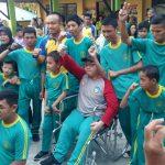 Kapolres Tj. Pinang Gelar Olahraga Gembira Bersama Murid SLB