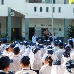 Jadi Pembina Upacara, Polisi Terus Beri Motivasi Pelajar