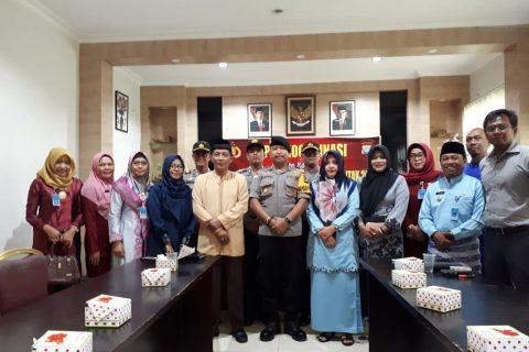 Polres Bintan Gandeng Unsur Stake Holder  Wujudkan Pilkades Serentak 2018 Yang Aman Dan Damai