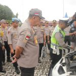 Wakapolda Kepri Cek Kesiapan Polres Karimun Hadapi Pengamanan Pemilu 2019