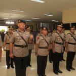 Peralihan Jabatan 7 Pejabat Utama Polda Kepri, Kapolda Kepri Pimpin Sertijab