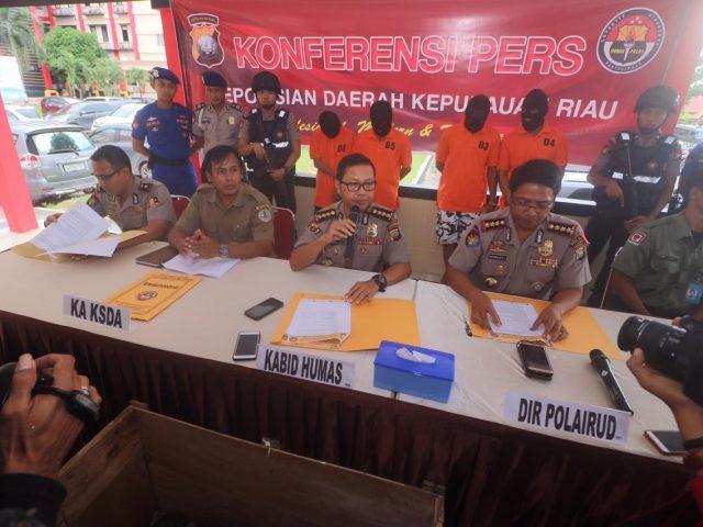 Kembali Polda Kepri Gagalkan Penyelundupan Pekerja Migran Indonesia