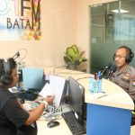 Dialog Interaktif di Radio Polda Kepri Sapa Masyarakat