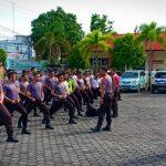 Polres Tanjungpinang Gelar Latihan Dalmas Untuk Kesiapan Pengamanan Pemilu 2019