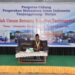 PMII Gelar Kuliah Umum Bersama Kapolres Tanjungpinang