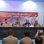 Kapolres Bintan Ajak Umat Kristiani Jaga Kondisi Kamtibmas  Jelang Natal 2018 dan Tahun Baru 2019