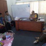 Basembang Bercerite Kapolsek Balai Karimun Sampaikan Pesan Kamtibmas