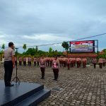 Kapolres Bintan Pimpin Langsung Upacara Pembukaan Penerimaan Saka Bhayangkara