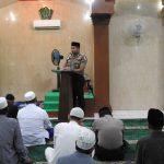 Makmurkan Masjid, Kapolsek Sagulung Laksanakan Subuh Keliling