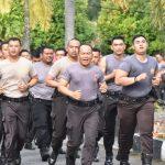 Wakapolres Tanjungpinang Pimpin Langsung Pelatihan Peragaan Dalmas