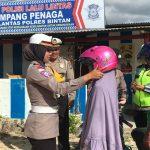 Wujudkan Keselamatan Berlalu Lintas Satlantas Polres Bintan Sosialisasikan Millennial Road Safety Festival