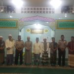 Kabagren Polres Lingga Berikan Pesan Kamtibmas Dalam Sholat Subuh Keliling Polres Lingga