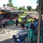 Sat Binmas Polres Natuna Berikan Penyuluhan Kamtibmas Di Desa Sungai Hulu