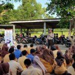 Giliran Kelompok Pelajar Yang Diberikan Sosialisasi Millenial Road Safety Festival