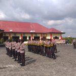 Polres Bintan Laksanakan Latihan Dalmas, Tingkatkan Kemampuan Pengamanan