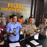 Jajaran Sat Reskrim Polres Tanjungpinang Berhasil Ungkap Kasus Pencurian Dengan Pemberatan