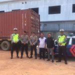 Logistik Pemilu 2019 Kembali Tiba, Polres Bintan Lakukan Pengawalan