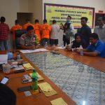 Kapolres Natuna Gelar Konfrensi Pers Tangkapan Narkotika tahun 2019