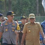 Apel Gelar Pasukan Pengamanan Pemilu 2019, Kapolres Bintan : TNI dan Polri Adalah Institusi Yang Bertanggung Jawab Langsung Terhadap Pengamanan Jalannya Pemilu Serentak 2019.