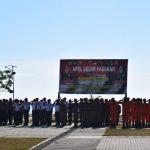 Apel Gelar Pasukan Pam Pemilu 2019 ,Tni Polri Dan  Instansi Terkait Siap Amankan Jalannya Pemilu 2019