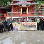 Polres Kep.Anambas bersama dengan TNI dan seluruh elemen mayarakat gelar bakti sosial di tempat ibadah.