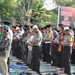 Kemarau Panjang, Polres Tanjungpinang Gelar Sholat Istisqo