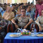 Wakapolda Kepri Temu Ramah Kambtibmas bersama Masyakarat Natuna harapkan Pemilu 2019 Kab Natuna  Aman Damai dan Sejuk
