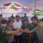 Apel Gelar Pasukan Dalam Rangka Pengamanan Menghadapi Pemilu Tahun 2019 Di Tumenggung Abdul Jamal Mukakuning – Kota Batam