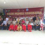 Polda Kepri peduli kesehatan Hadir di Pulau Perbatasan P.Terong Kecamatan Belakang Padang