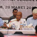 Cek Kesiapan Pam Jelang Pemilu 2019, Komisi III DPR RI Kunjungi Polda Kepri