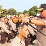 Upacara Tradisi Penyambutan Bintara Remaja Diktuk Bintara Polri T.A. 2018/2019