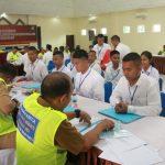 Pemeriksaan Administrasi Awal Penerimaan Calon Anggota Polri T.A. 2019 Polda Kepri